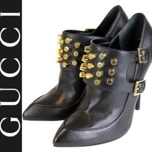 GUCCI BOOTS WITH GOLD STUDS ✨✨✨✨